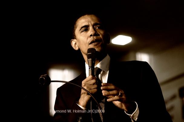 Obama in Philadelphia Pa 2007